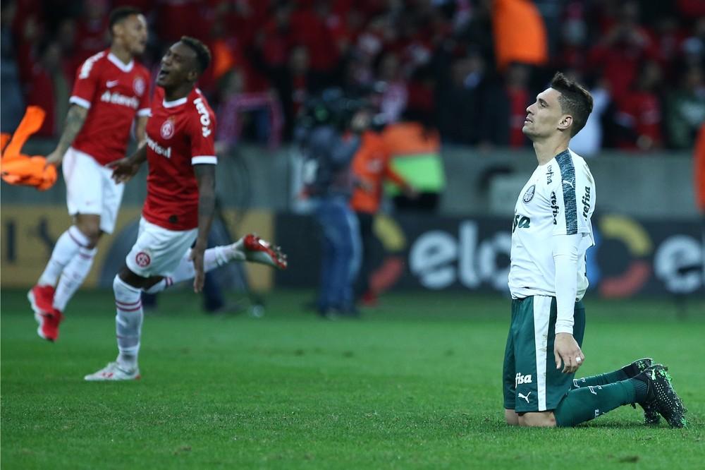 Erro de Moisés na sexta cobrança eliminou o Palmeiras da Copa do Brasil — Foto: Gustavo Granata / Estadão Conteúdo