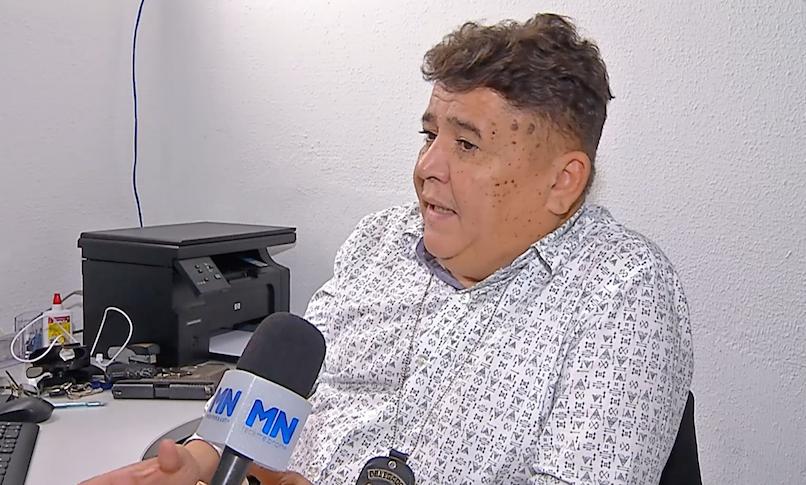 Delegado Sérgio Alencar - Foto: Reprodução/TV Meio Norte