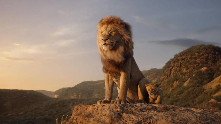 O Rei leão em julho.
