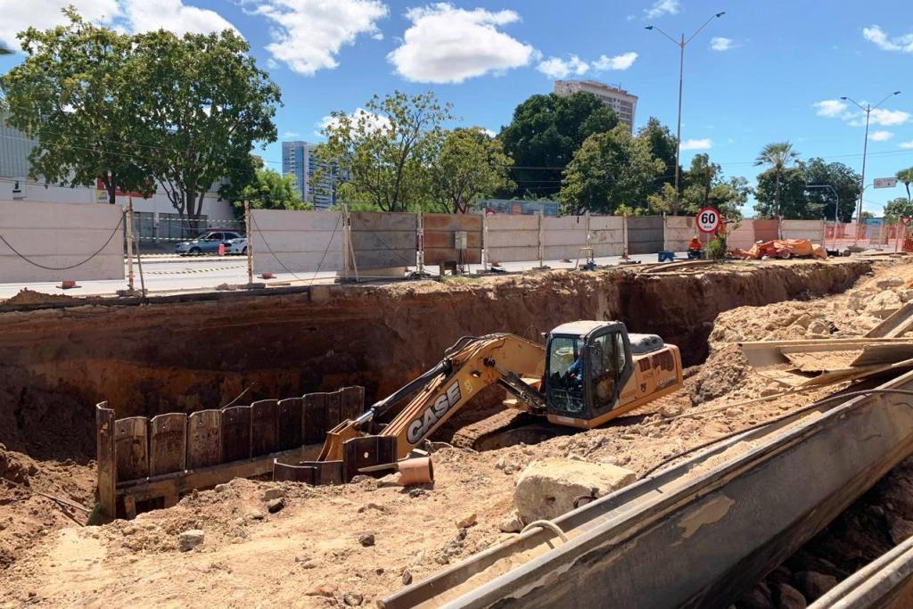 Avenida João XXIII será interditada para nova etapa da obra da galeria - Imagem 1