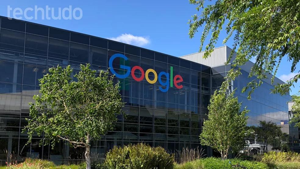 Fachada da sede do Google na Califórnia — Foto: Nicolly Vimercate/TechTudo