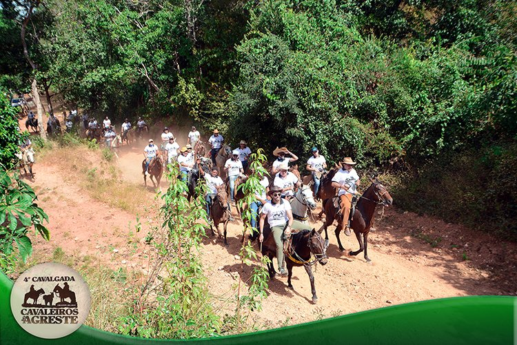 Amigos mantem viva tradição e fazem 4ª Cavalgada Cavaleiros do Agreste - Imagem 18