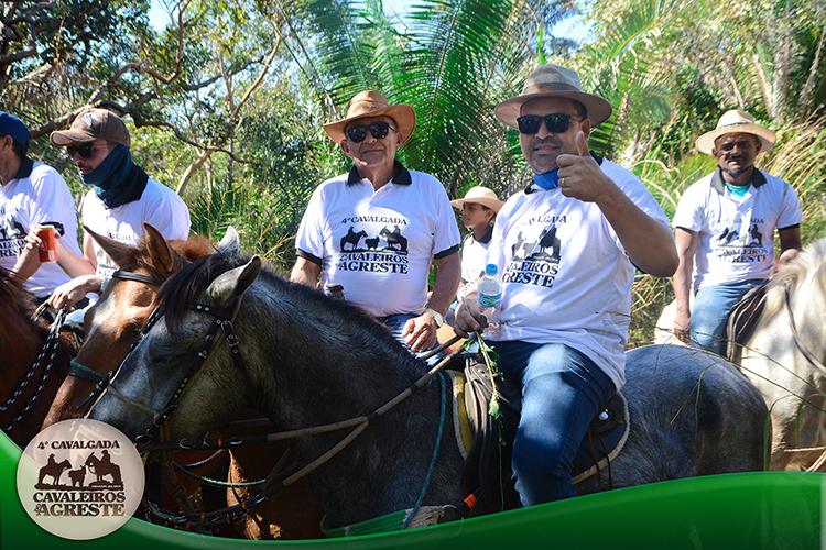 Amigos mantem viva tradição e fazem 4ª Cavalgada Cavaleiros do Agreste - Imagem 13