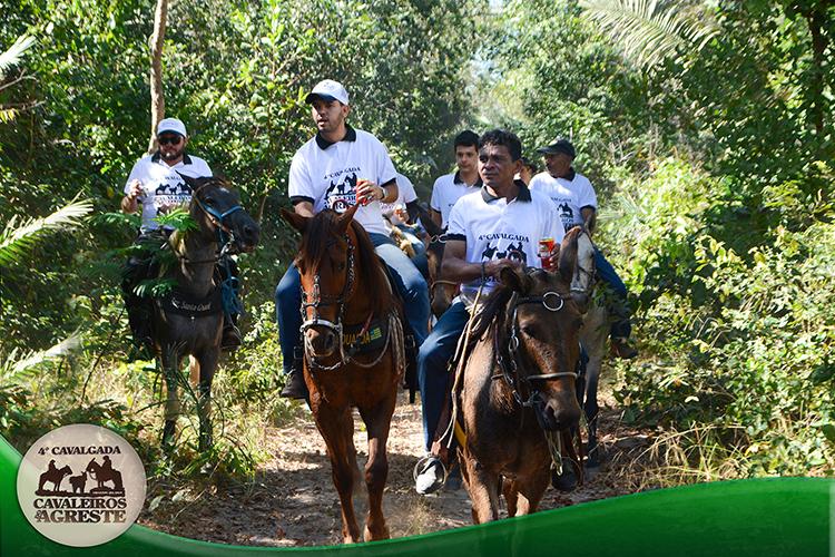 Amigos mantem viva tradição e fazem 4ª Cavalgada Cavaleiros do Agreste - Imagem 11