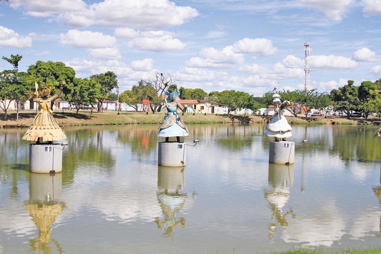 Praça dos Orixás: valorização das religiões de matrizes africanas   Crédito: Raíssa Morais