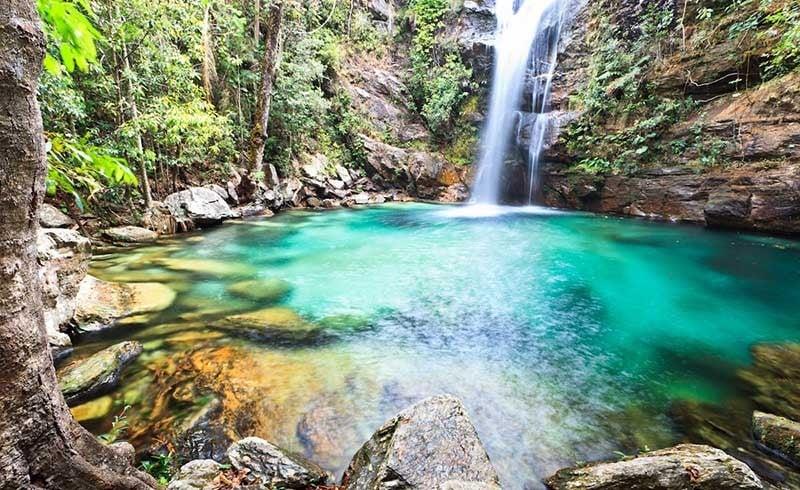 Um dos destinos nacionais qeu permite conhecer muitas cachoeiras e a chapada dos veadeiros