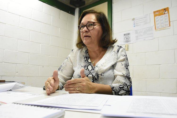 Maria de Lourdes Lopes, superintendente de Ensino Superior da Seduc