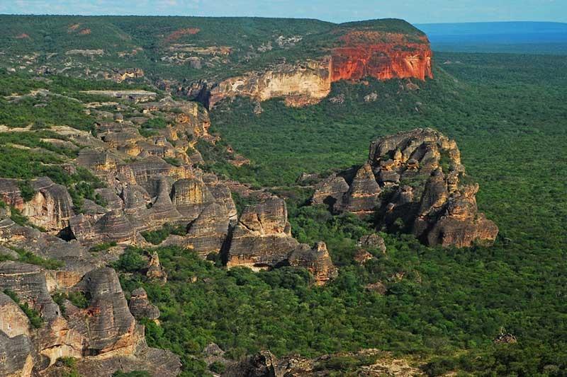A serra da capivara é um dos destinos nacionais mais fantásticos