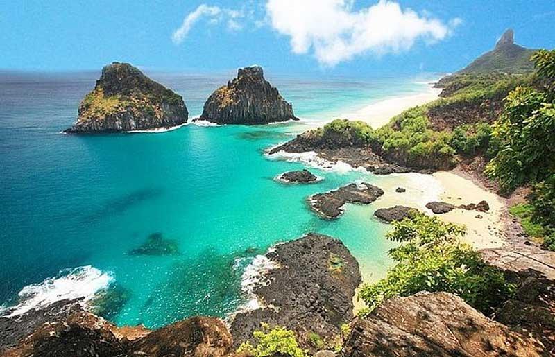 Fernando de Noronha é um dos destinos nacionais paradisíacos