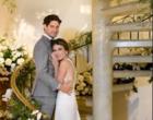 Alexandre Pato relembra clique do casamento com Rebeca Abravanel
