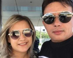 """Esposa de Paulynho Paixão nega agressão: """"Momento de raiva"""""""