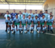Seleção municipal de futsal vence de virada e se classifica para as quartas de final