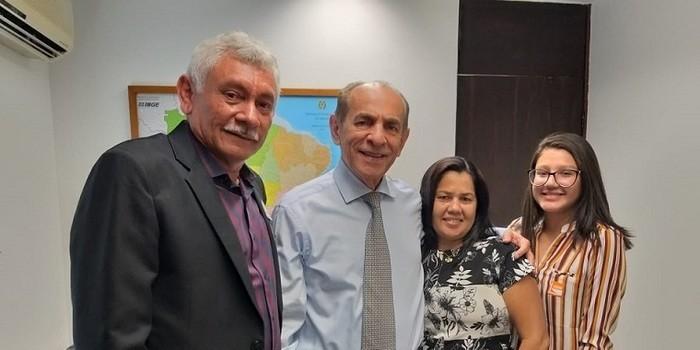 Prefeito Manoel Lázaro participa de audiências nos gabinetes parlamentares em Brasília