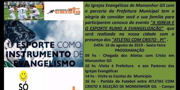 Prefeito João Luiz recebe os atletas dos jogos das Igrejas Evangélicas