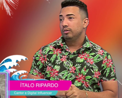 Rei da Xiola- Ítalo Ripardo é a atração musical desta semana no programa Bar & Cia
