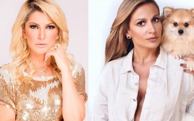 Luisa Mell e Antonia Fontenelle discutiram no Instagram
