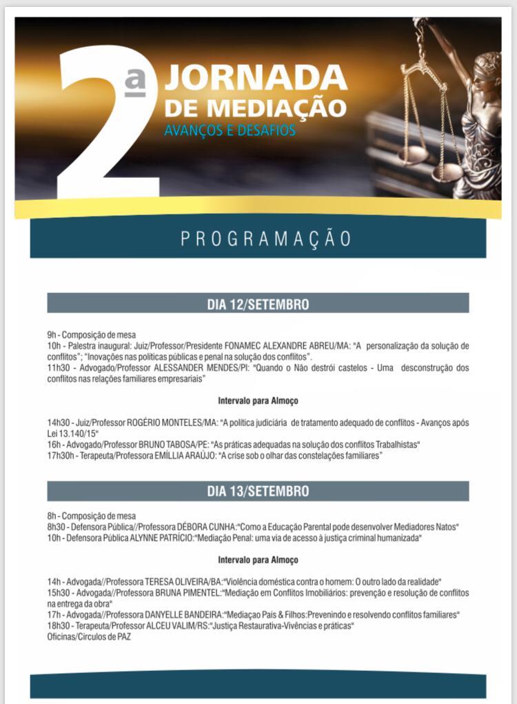 TJ-PI sedia 2ª Jornada de Mediação promovida pelo Instituto Imediar - Imagem 3