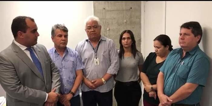 Prefeito João Luiz lidera comitiva em reunião na Agespisa em Teresina