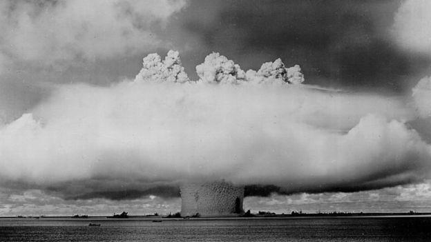 Teste de bomba nuclear