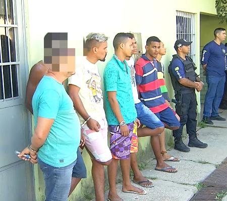 Resultado de imagem para Polícia prende do Piauí seis acusados de assaltar coronel da PM do Maranhão