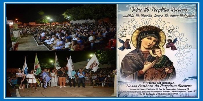 Multidão prestigia Missa Solene em Honra de Nossa Senhora do Perpétuo Socorro
