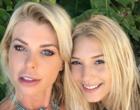 Filha de Caroline Bittencourt segue os passos da mãe como modelo