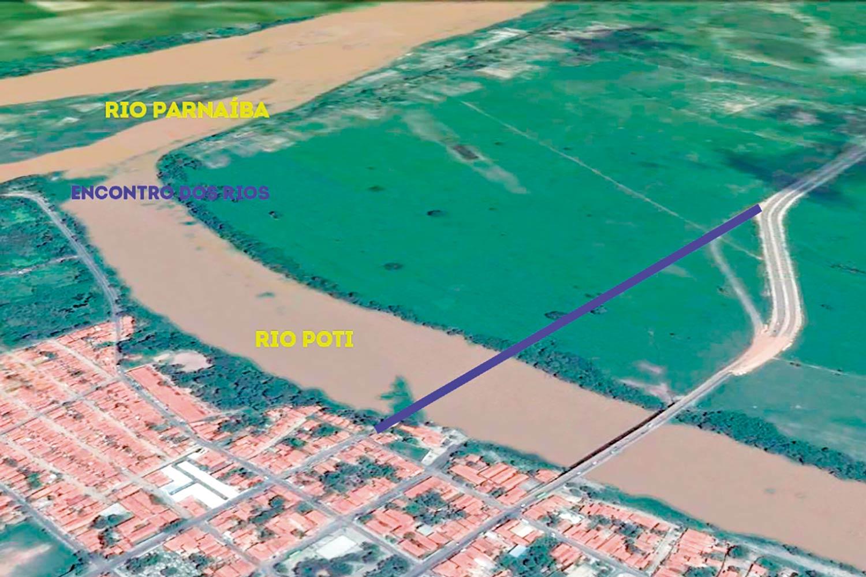 Obras da nova ponte sobre o Rio Poti devem iniciar em outubro - Imagem 1