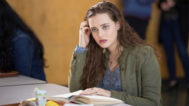 Katherine Langford na série 13 Reasons Why