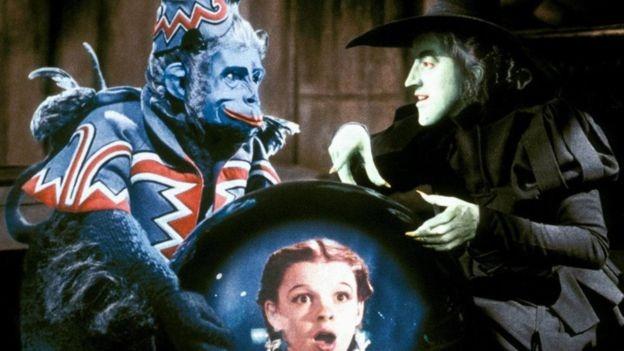 """Cena de """"O Mágico de Oz"""""""