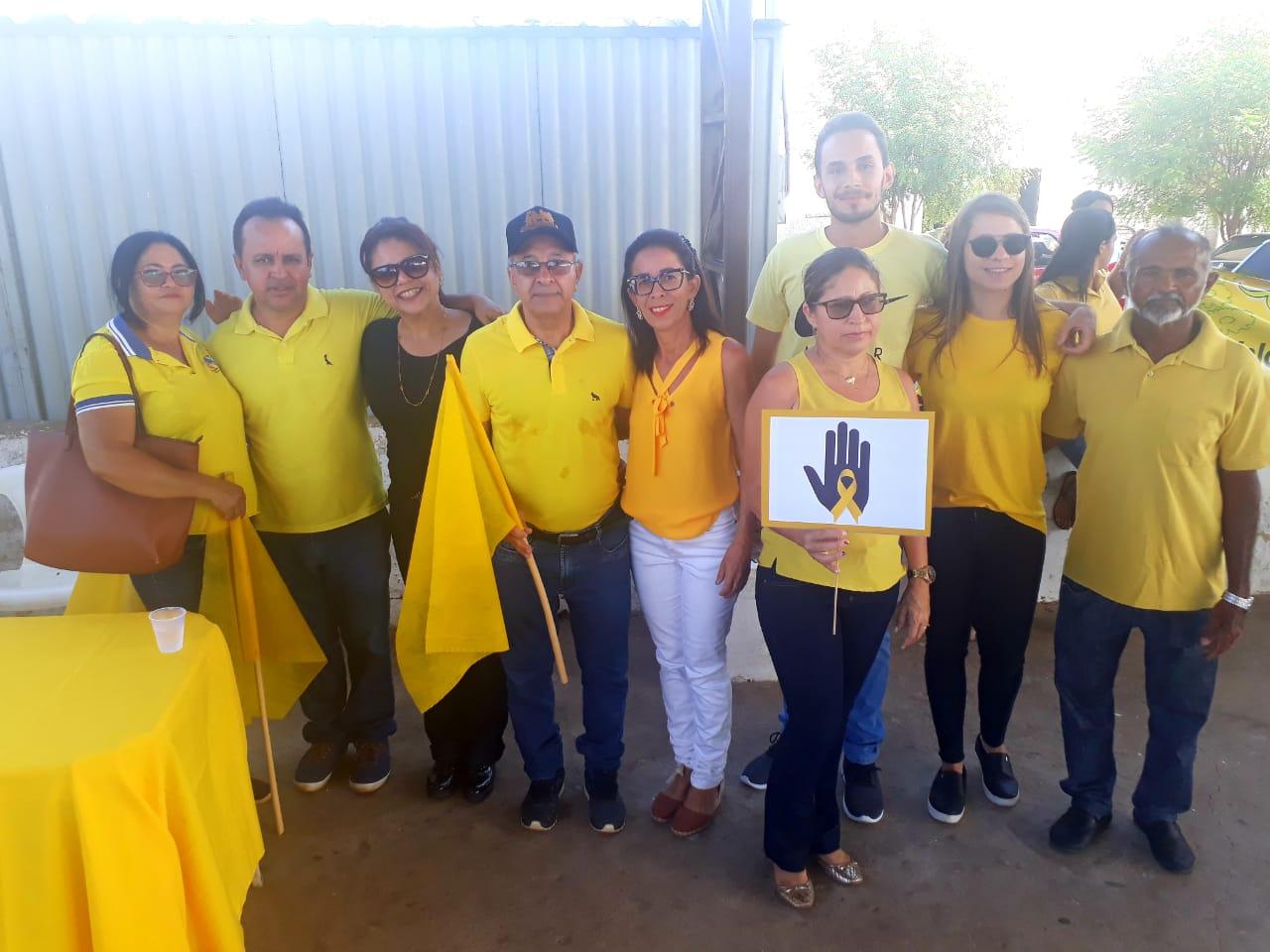 Prefeitura de Barro Duro realiza caminhada pela vida, no Setembro Amarelo - Imagem 20
