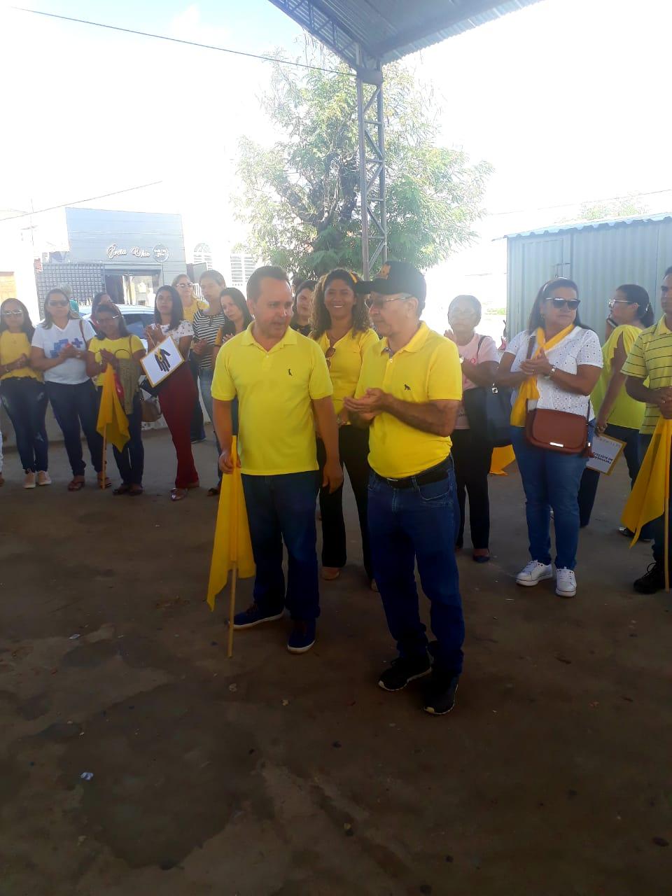 Prefeitura de Barro Duro realiza caminhada pela vida, no Setembro Amarelo - Imagem 24