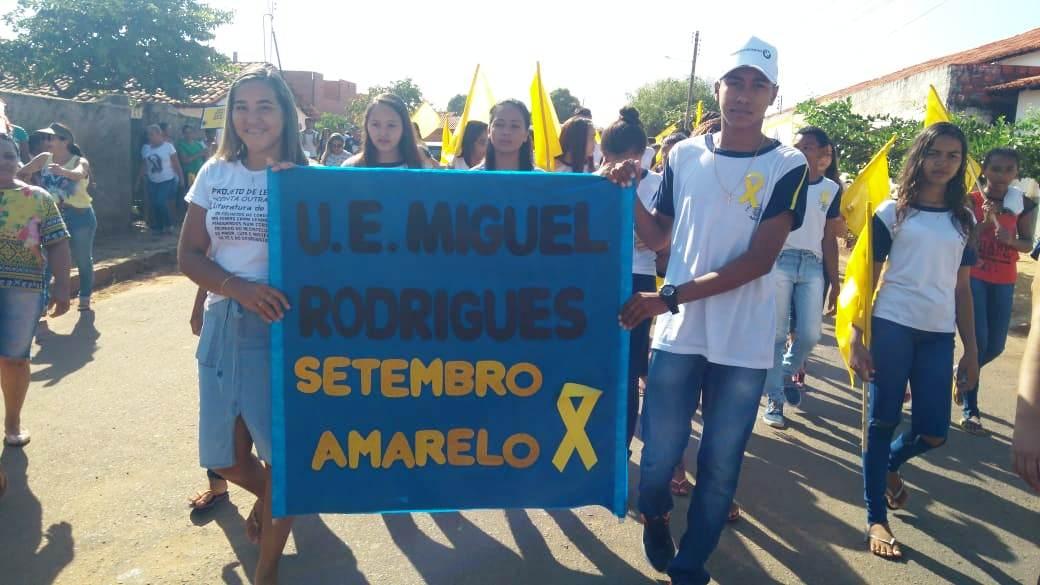 Prefeitura de Barro Duro realiza caminhada pela vida, no Setembro Amarelo - Imagem 3