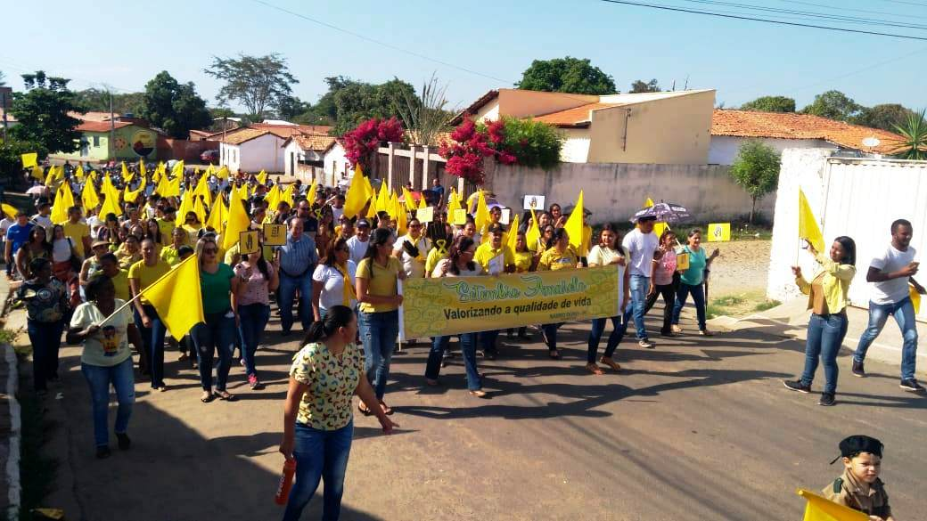 Prefeitura de Barro Duro realiza caminhada pela vida, no Setembro Amarelo - Imagem 4