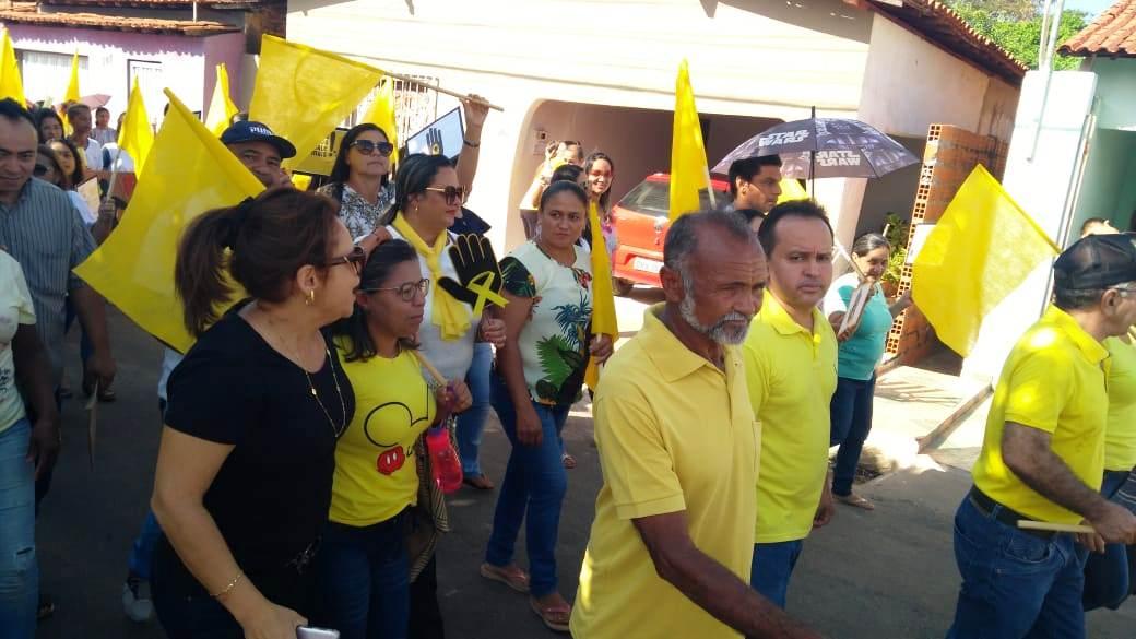 Prefeitura de Barro Duro realiza caminhada pela vida, no Setembro Amarelo - Imagem 8