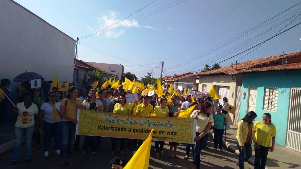Prefeitura de Barro Duro realiza caminhada pela vida, no Setembro Amarelo - Imagem 6