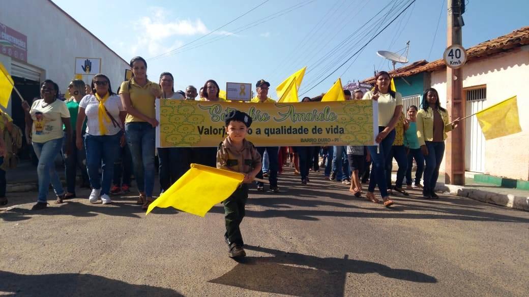 Prefeitura de Barro Duro realiza caminhada pela vida, no Setembro Amarelo - Imagem 9