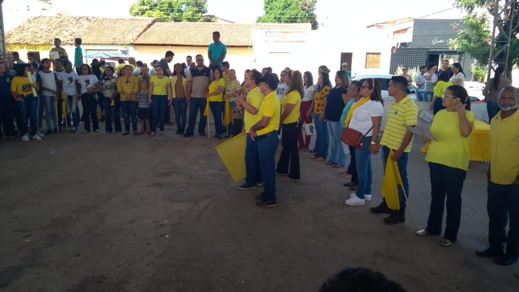Prefeitura de Barro Duro realiza caminhada pela vida, no Setembro Amarelo - Imagem 16