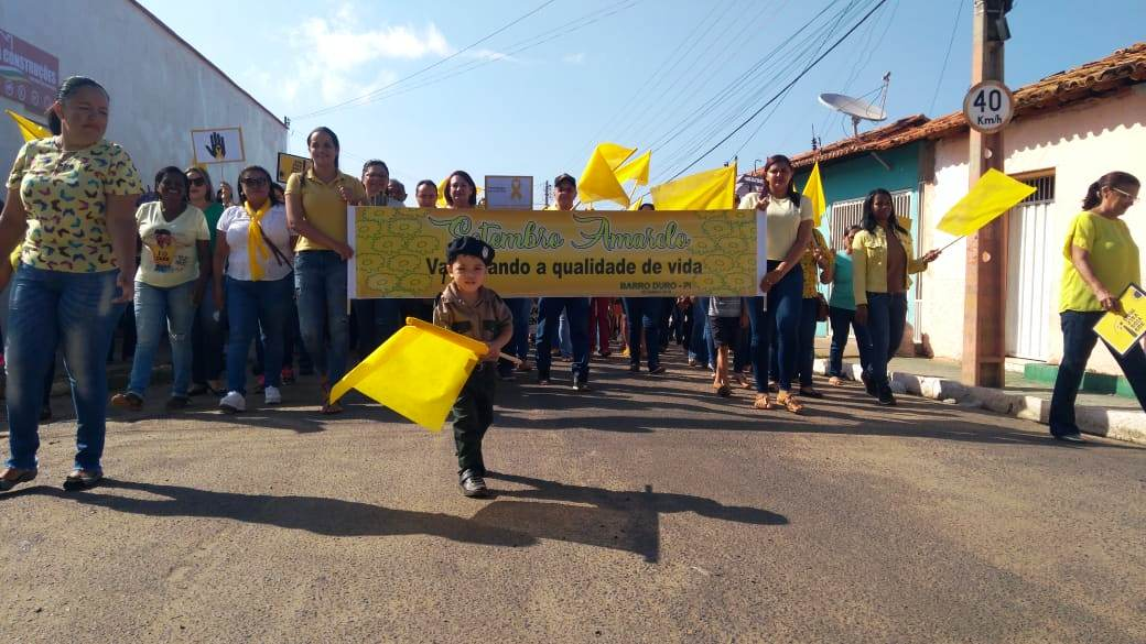 Prefeitura de Barro Duro realiza caminhada pela vida, no Setembro Amarelo - Imagem 7
