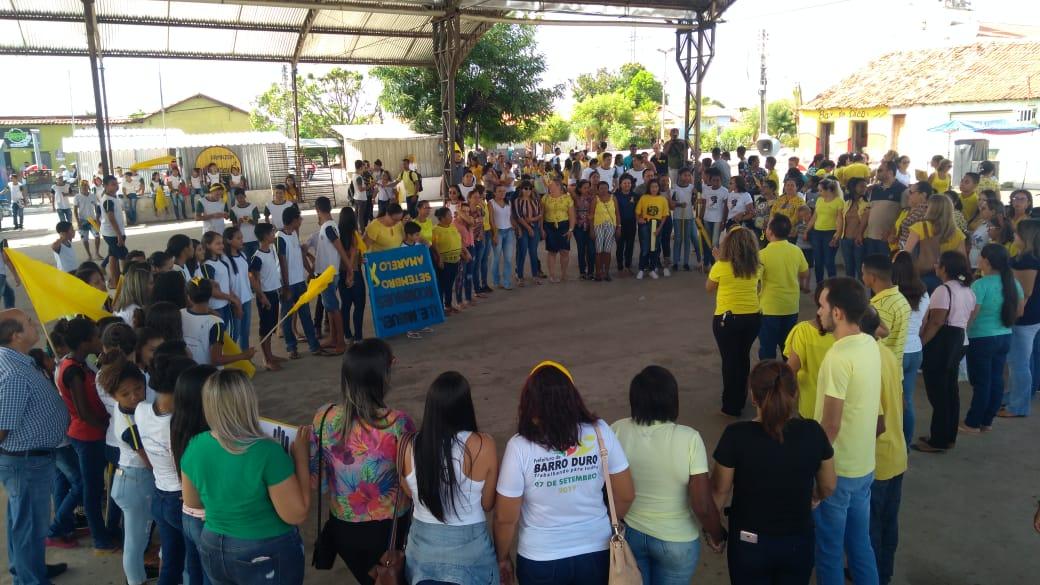 Prefeitura de Barro Duro realiza caminhada pela vida, no Setembro Amarelo - Imagem 15