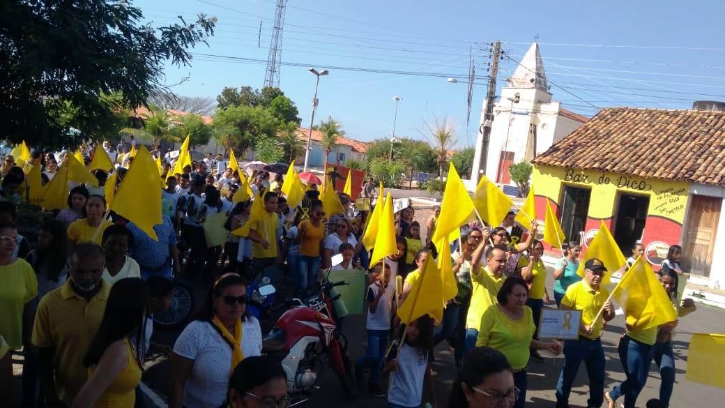 Prefeitura de Barro Duro realiza caminhada pela vida, no Setembro Amarelo - Imagem 11