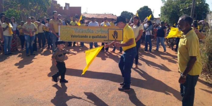 Prefeitura de Barro Duro realiza caminhada pela vida, no Setembro Amarelo