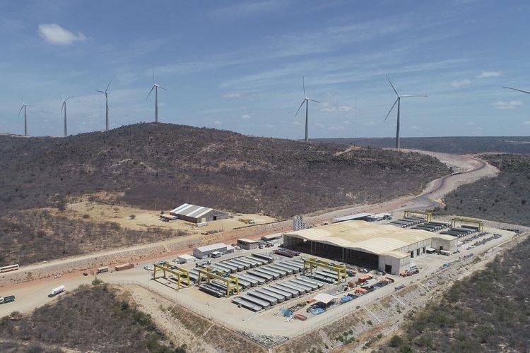 A região no Piauí é propícia para a produção de energia eólica (Reprodução TV CCom)