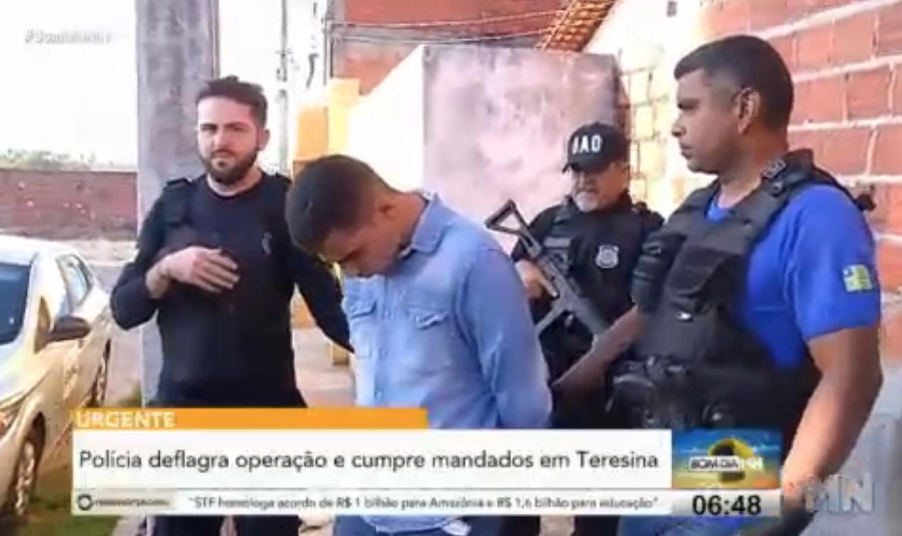 Polícia deflagra operação e cumpre mandados de roubos e estupros em Teresina - Imagem 1