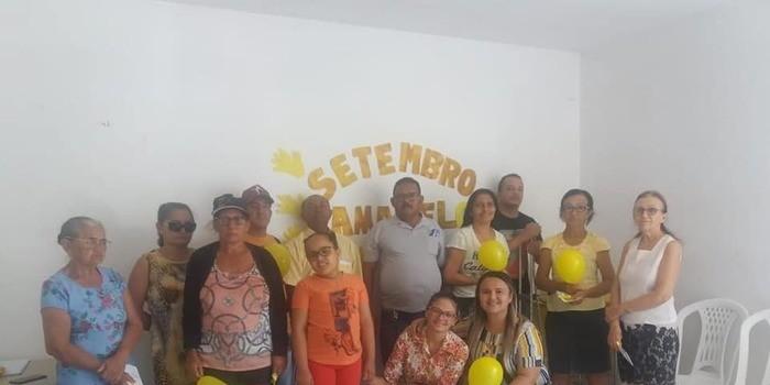 Secretaria municipal de saúde realiza roda de conversa sobre o setembro amarelo