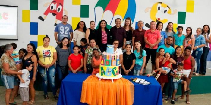 Educação de Água Branca realiza culminância de projeto de alfabetização para crianças especiais