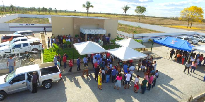 Inaugurada nova sede do CIRETRAN em Água Branca