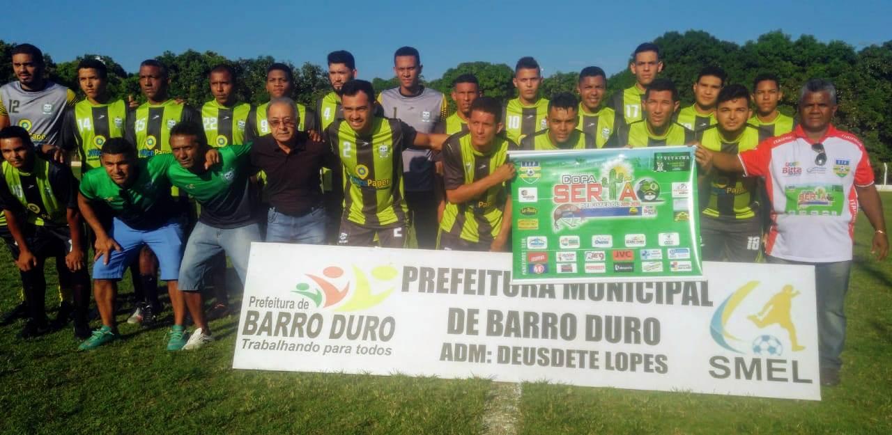 Seleção de Barro Duro vence na abertura da Copa Sertão de Futebol - Imagem 1