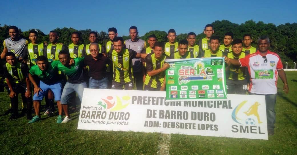 Seleção de Barro Duro vence na abertura da Copa Sertão de Futebol - Imagem 13