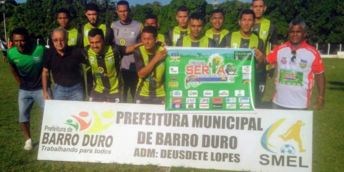 Seleção de Barro Duro vence na abertura da Copa Sertão de Futebol