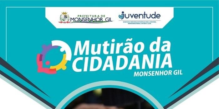 Prefeitura faz chamamento para expedição de documentos, nesta quarta e quinta feira em Monsenhor Gil